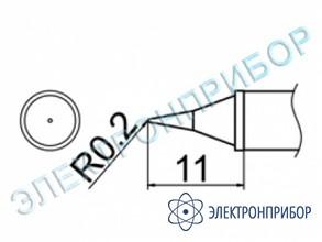 Паяльная сменная композитная головка для станций fx-950/ fx-951/fx-952/fm-203 T12-WI