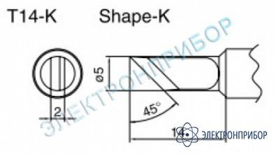 Паяльные сменные композитные головки для паяльника с подачей азота hakko 957, станции hakko 938 T14-K
