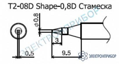 Паяльные сменные композитные головки для станции 942 T2-08D