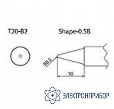 Паяльная сменная композитная головка для станций fx-838 T20-B2