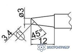 Паяльная сменная композитная головка для станций fx-838 T20-BC3