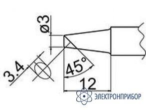 Паяльная сменная композитная головка для станций fx-838 T20-BCF3