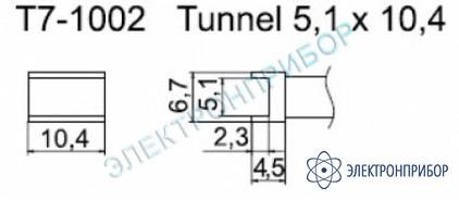 Паяльные сменные композитные головки для станции fм-202 T7-1002