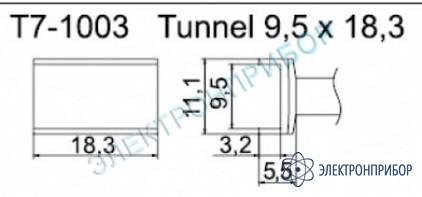 Паяльные сменные композитные головки для станции fм-202 T7-1003