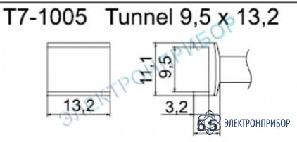 Паяльные сменные композитные головки для станции fм-202 T7-1005