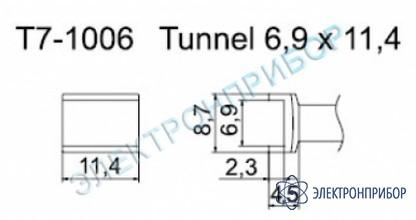Паяльные сменные композитные головки для станции fм-202 T7-1006