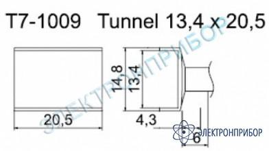 Паяльные сменные композитные головки для станции fм-202 T7-1009