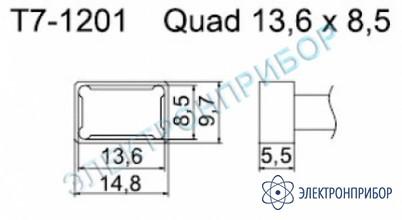 Паяльные сменные композитные головки для станции fм-202 T7-1201