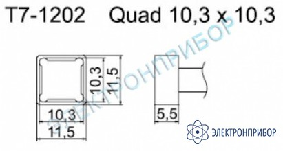 Паяльные сменные композитные головки для станции fм-202 T7-1202