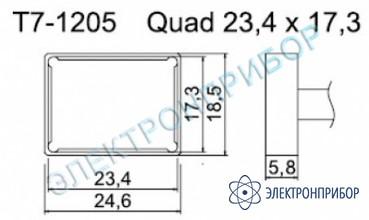 Паяльные сменные композитные головки для станции fм-202 T7-1205