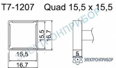 Паяльные сменные композитные головки для станции fм-202 T7-1207
