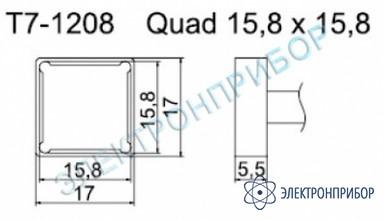 Паяльные сменные композитные головки для станции fм-202 T7-1208