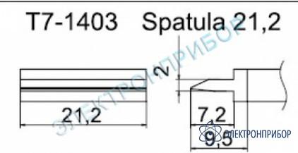 Паяльные сменные композитные головки для станции fм-202 T7-1403