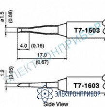 Паяльные сменные композитные головки для станции fм-202 T7-1603