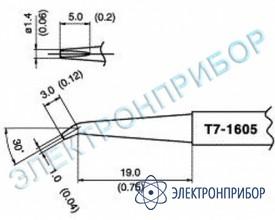 Паяльные сменные композитные головки для станции fм-202 T7-1605