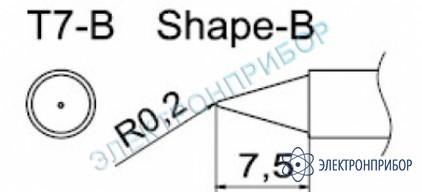 Паяльные сменные композитные головки для станции fм-202 T7-B