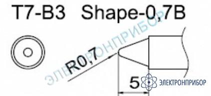 Паяльные сменные композитные головки для станции fм-202 T7-B3