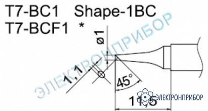 Паяльные сменные композитные головки для станции fм-202 T7-BC1