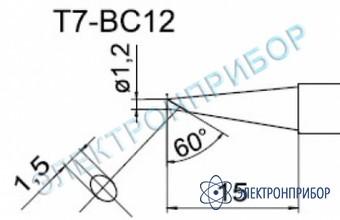 Паяльные сменные композитные головки для станции fм-202 T7-BC12
