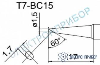 Паяльные сменные композитные головки для станции fм-202 T7-BC15