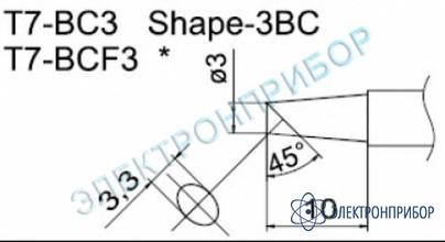 Паяльные сменные композитные головки для станции fм-202 T7-BC3