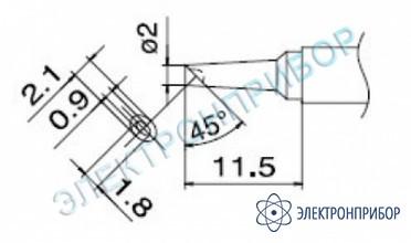 Паяльные сменные композитные головки для станции fм-202 T7-BCM2