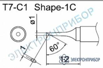 Паяльные сменные композитные головки для станции fм-202 T7-C1