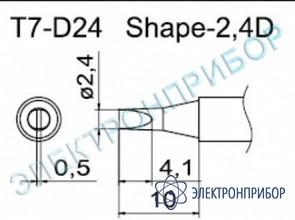 Паяльные сменные композитные головки для станции fм-202 T7-D24