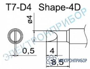 Паяльные сменные композитные головки для станции fм-202 T7-D4