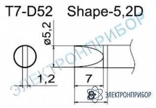 Паяльные сменные композитные головки для станции fм-202 T7-D52