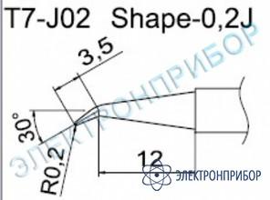 Паяльные сменные композитные головки для станции fм-202 T7-J02