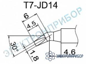 Паяльные сменные композитные головки для станции fм-202 T7-JD14