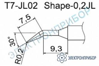 Паяльные сменные композитные головки для станции fм-202 T7-JL02