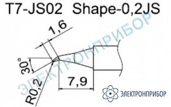 Паяльные сменные композитные головки для станции fм-202 T7-JS02
