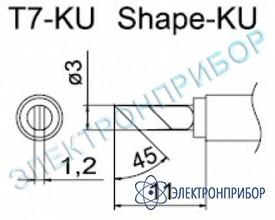 Паяльные сменные композитные головки для станции fм-202 T7-KU