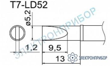 Паяльные сменные композитные головки для станции fм-202 T7-LD52
