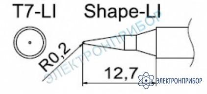 Паяльные сменные композитные головки для станции fм-202 T7-LI