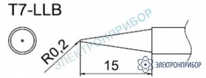 Паяльные сменные композитные головки для станции fм-202 T7-LLB