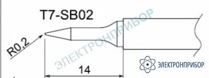 Паяльные сменные композитные головки для станции fм-202 T7-SB02