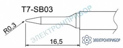 Паяльные сменные композитные головки для станции fм-202 T7-SB03