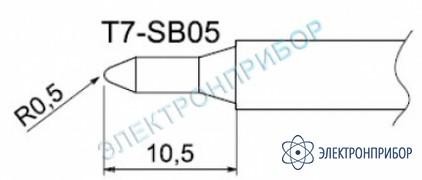 Паяльные сменные композитные головки для станции fм-202 T7-SB05