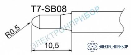 Паяльные сменные композитные головки для станции fм-202 T7-SB08