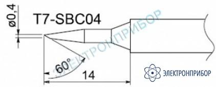 Паяльные сменные композитные головки для станции fм-202 T7-SBC04