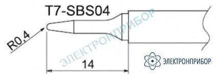 Паяльные сменные композитные головки для станции fм-202 T7-SBS04