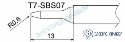 Паяльные сменные композитные головки для станции fм-202 T7-SBS07