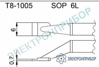 Паяльные сменные композитные головки для термопинцета fм-2022 T8-1005