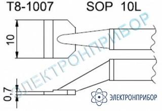 Паяльные сменные композитные головки для термопинцета fм-2022 T8-1007