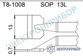 Паяльные сменные композитные головки для термопинцета fм-2022 T8-1008