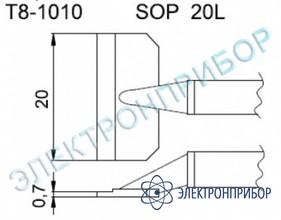 Паяльные сменные композитные головки для термопинцета fм-2022 T8-1010
