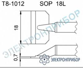 Паяльные сменные композитные головки для термопинцета fм-2022 T8-1012